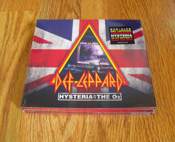 Def Leppard - Hysteria at the O2 - New DVD + 2CD