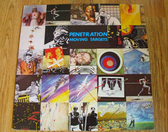 Penetration - Moving Targets - Used Ltd Glow in the Dark LP