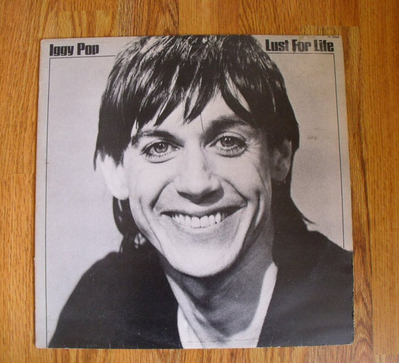 Iggy Pop - Lust For Life - Used LP