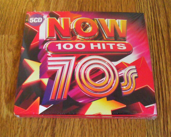Various Artists - NOW 100 Hits 70s - New 5CD