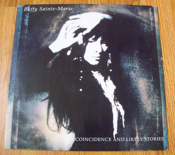 Buffy Sainte-Marie - Coincidence and Likely Stories -  Used LP