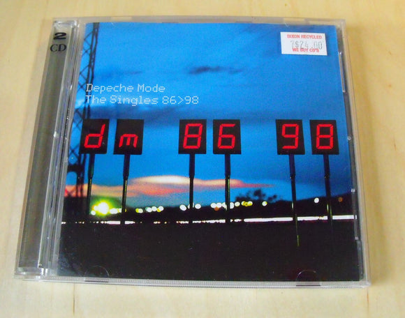 Depeche Mode - The Singles 86-98 - Used 2CD