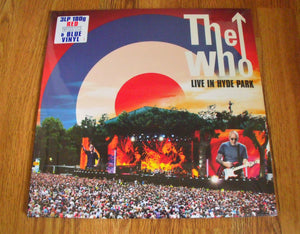 The Who - Live In Hyde Park - New Coloured 3LP