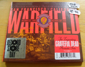 Grateful Dead - The Warfield, San Francisco, CA 10/9/80 and 10/10/80 - New 2CD - RSD19