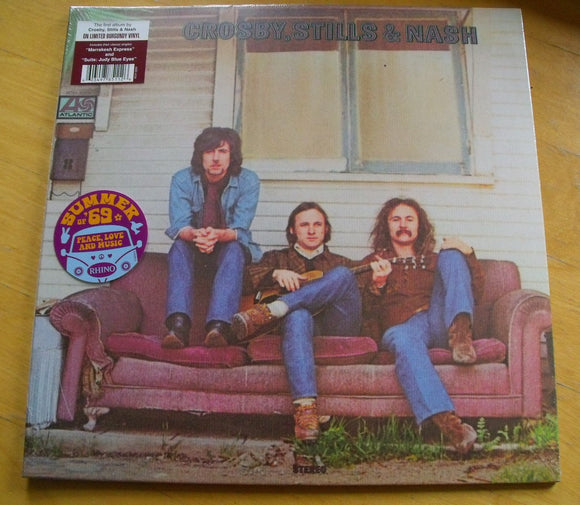 Crosby, Stills & Nash - Crosby, Stills & Nash - New Ltd Coloured LP