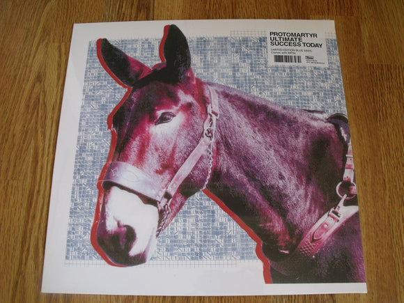 Protomartyr - Ultimate Success Today - New Ltd Blue LP