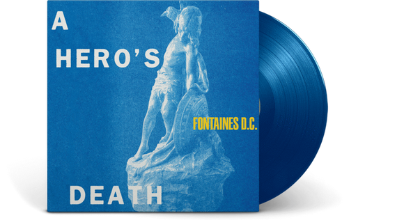 Fontaines DC - A Hero's Death - New Ltd Blue LP