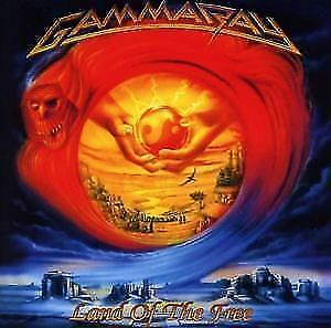 GAMMA RAY - LAND OF THE FREE - New 2LP - RSD20