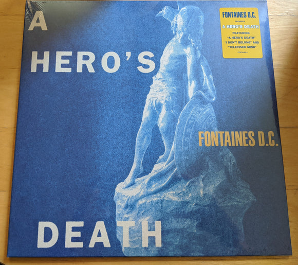 Fontaines DC - A Hero's Death - New Black LP