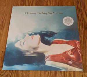 P J Harvey - To Bring You My Love Reissue - New LP