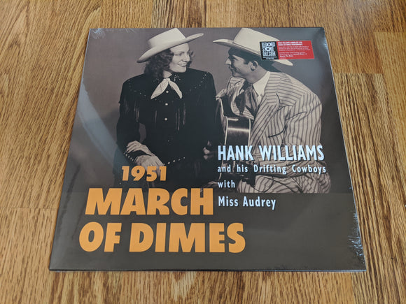 Hank Williams and His Drifting Cowboys with Miss Audrey - 1951 March Of Dimes - New 10