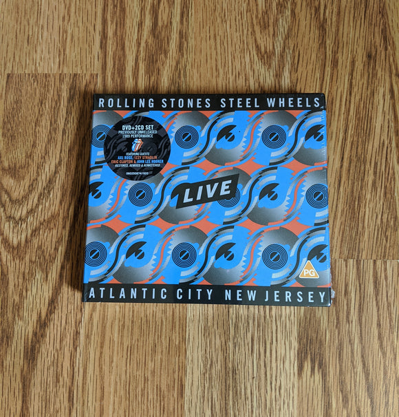 Rolling Stones - Steel Wheels Live – Atlantic City, New Jersey - New DVD + 2CD Set