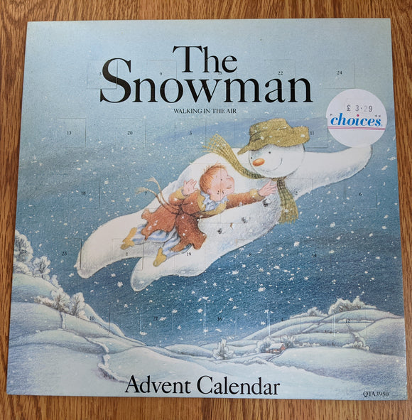 The Snowman -  Walking In The Air - Advent Calendar - Used 12
