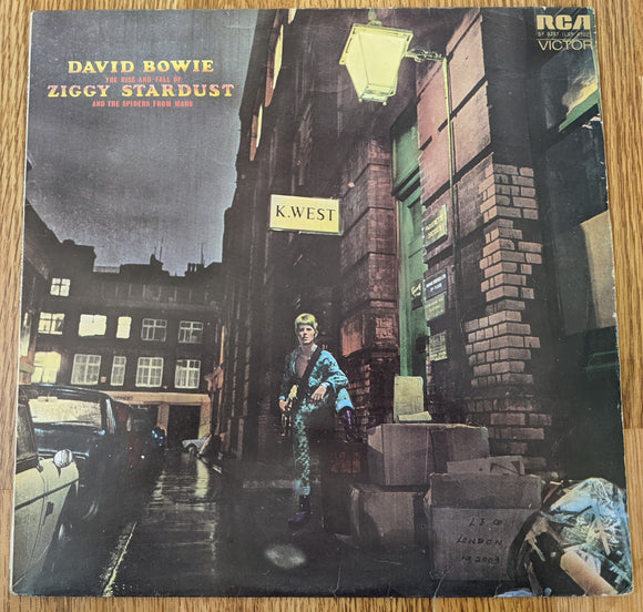David Bowie - The Rise and Fall of Ziggy Stardust and the Spiders From Mars - Used LP - VG+