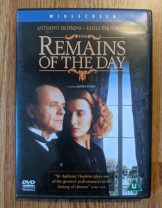 Remains Of The Day - Used DVD