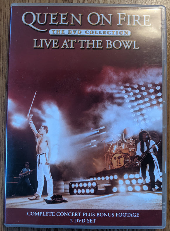 Queen On Fire The DVD Collection Live At The Bowl - Used 2DVD Set