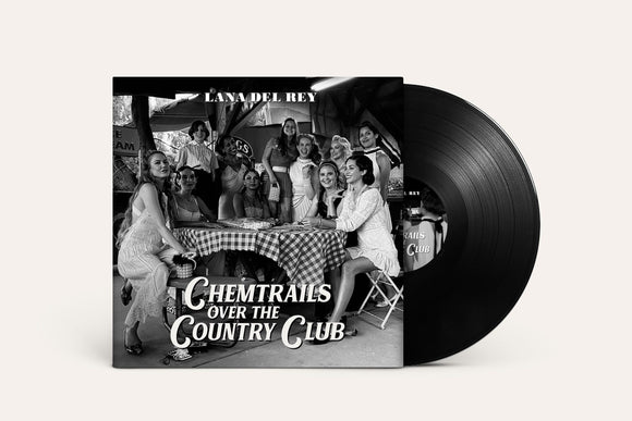 Lana Del Ray - Chemtrails Over The Country Club - New Black LP