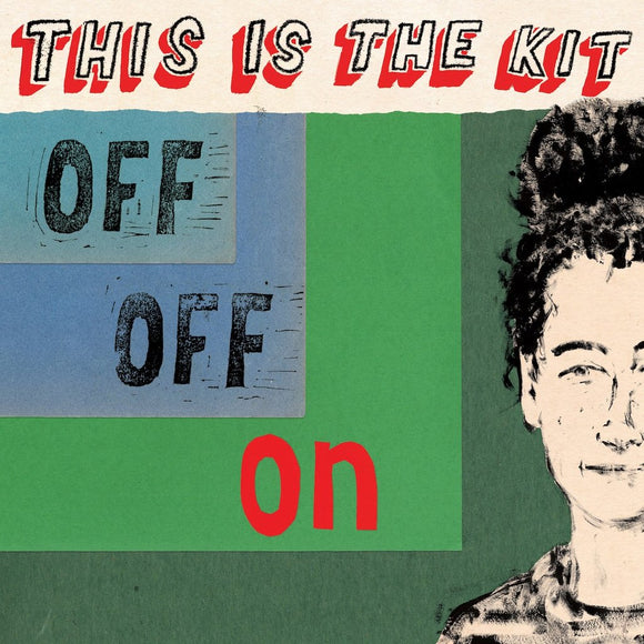 This Is The Kit - Off Off On - New Ltd Red LP