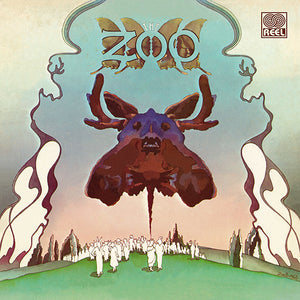 The Zoo - Presents Chocolate Moose – New Brown & Red Swirl LP – RSD20