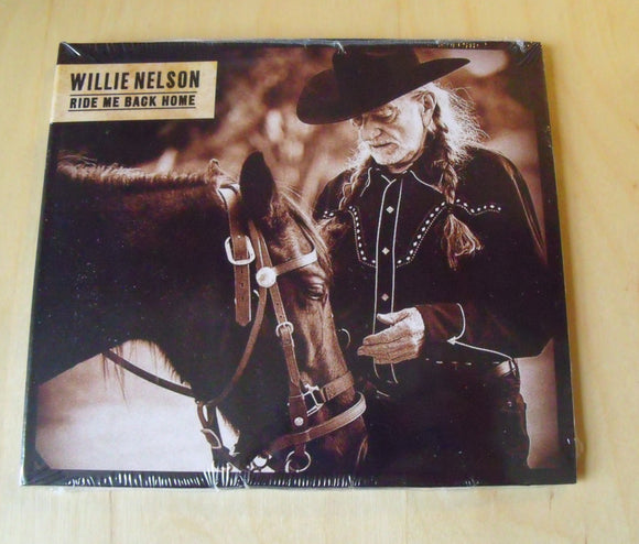 Willie Nelson - Ride Me Back Home - New CD