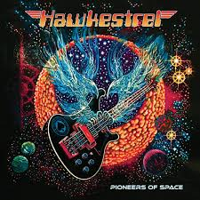 Hawkestrel - Pioneers Of Space - New Ltd Red LP