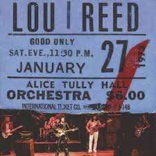 Lou Reed - Live At Alice Tully Hall - Jan 27th, 1973 - 2nd Show – New Burgundy 2lp – Rsd20 Black Friday