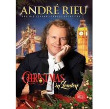 Andre Rieu - Christmas In London - New DVD