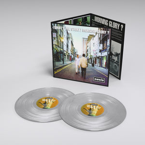 Oasis - (What's The Story) Morning Glory? New 25th Anniversary Limited Edition Silver 2LP