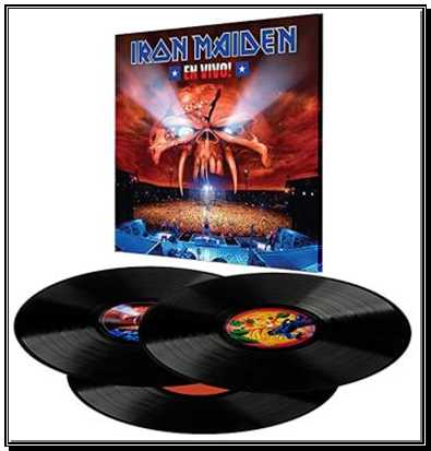 Iron Maiden - En Vivo - New 3LP