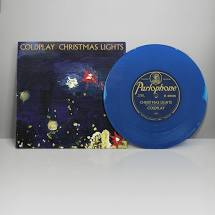 Coldplay - Christmas Lights - New Ltd Blue 7