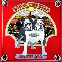 Status Quo - Dog of Two Head - New Ltd Red LP