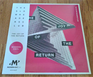 The Slow Readers Club - The Joy of the Return New LP
