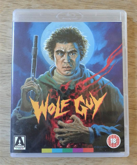 Wolf Guy Used Blu-Ray DVD