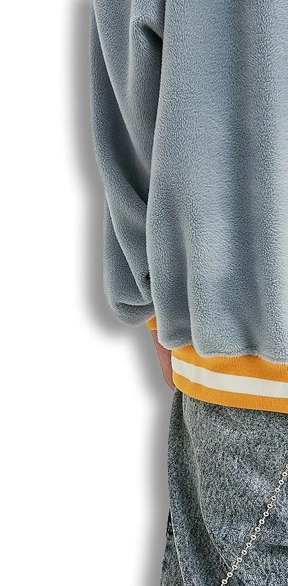 Sweat décontracté chaud col rond sweat velours sweat pull