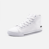 Chaussures streetwear montantes blanches homme femme