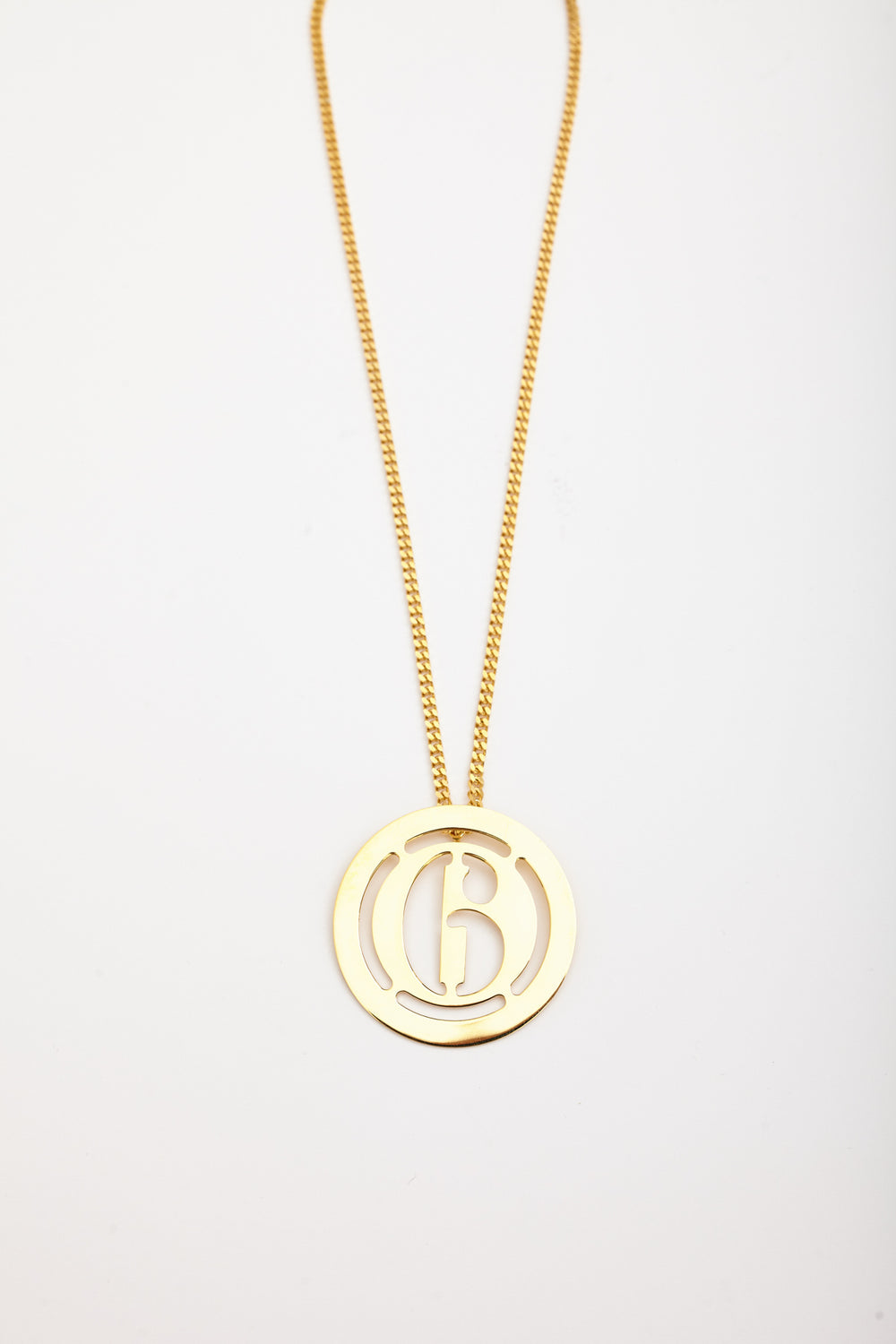 LOGO NECKLACE - GOLD - Studio Avra