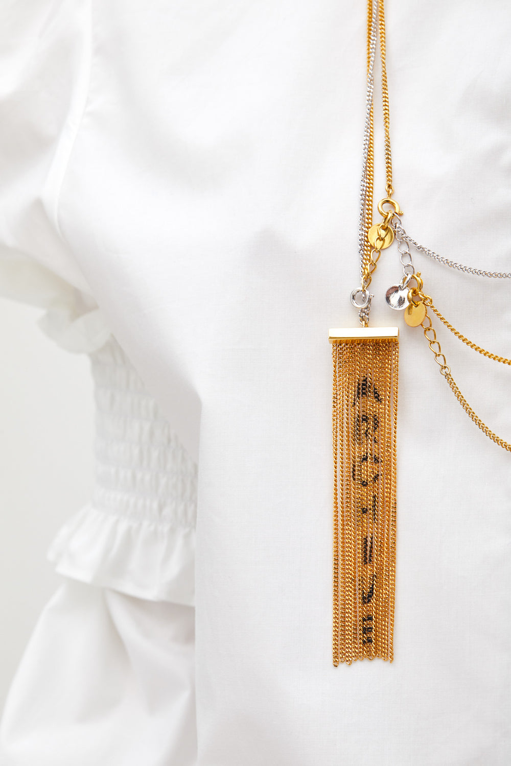 Studio Avra - ARCHIVE FRINGED NECKLACE