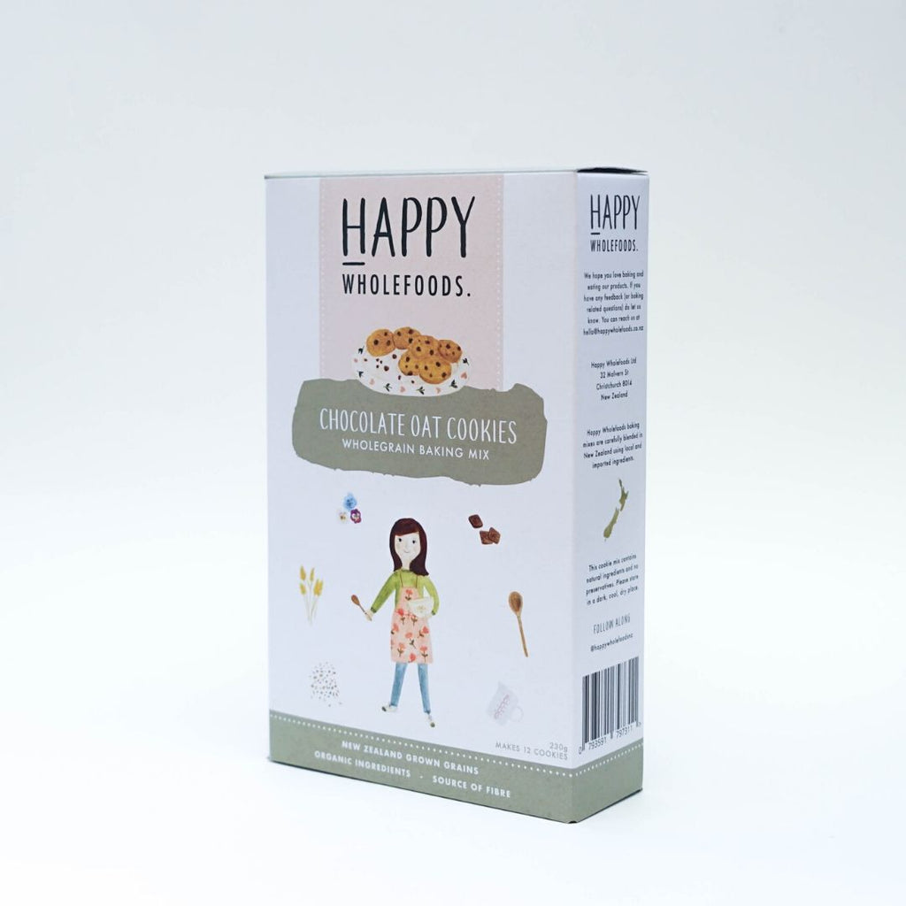 Happy Wholefoods Chocolate Oat Cookies