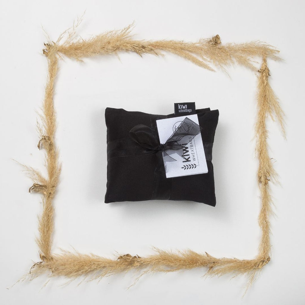 Black Cotton Wheat Bag