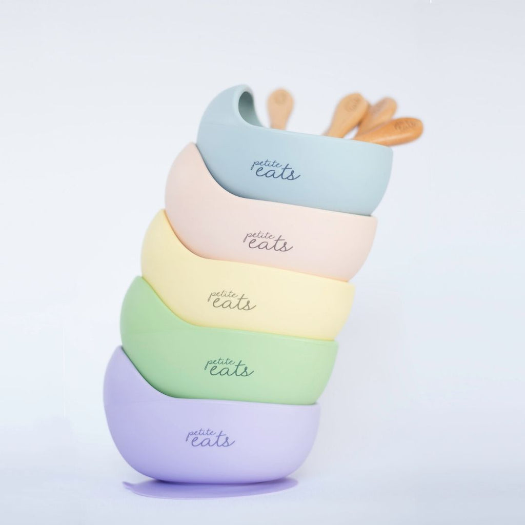 Petite Eats - Silicone Bowl and Spoon Sets