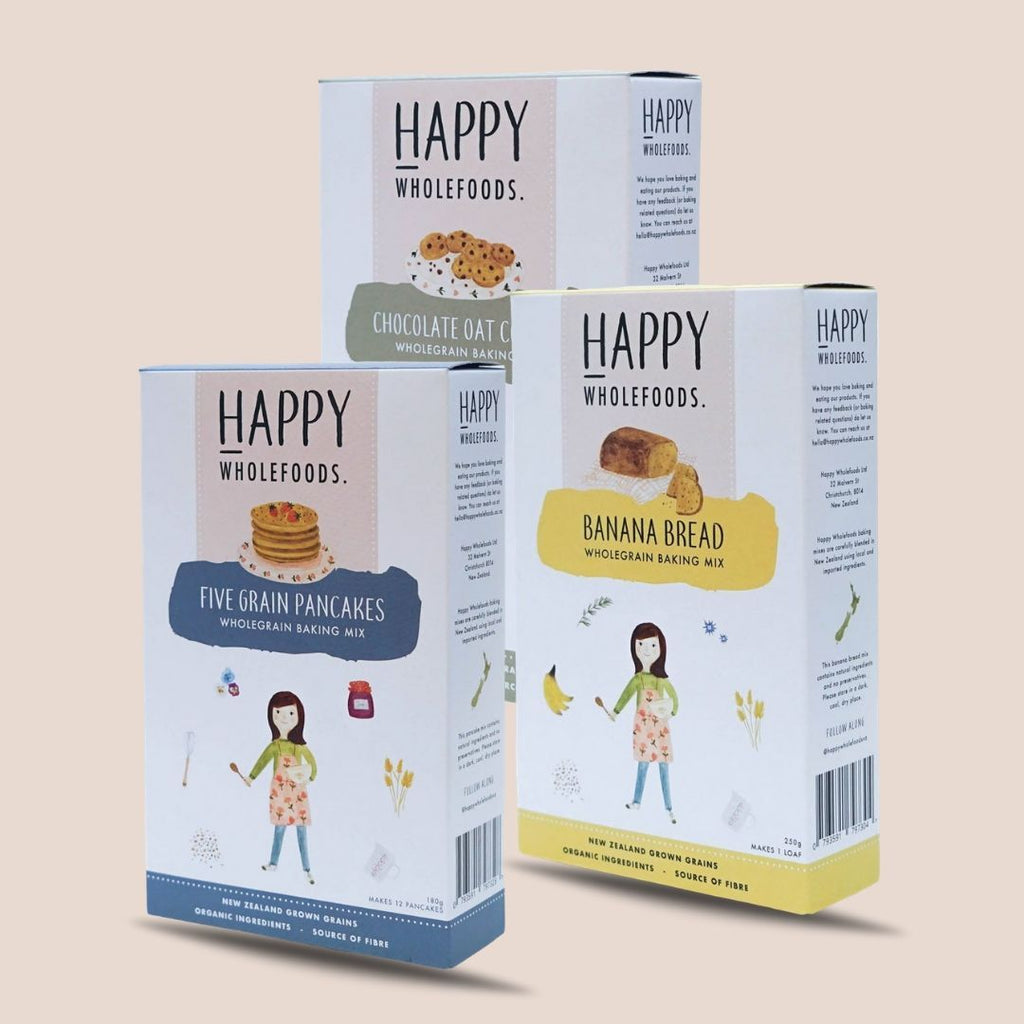 Gift Product - Happy Whole Foods Pack Of 3