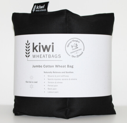 Jumbo Black Cotton Wheat Bag