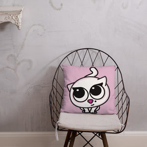 Bella Kitty Pillow Pink