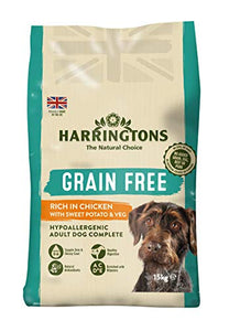 Harringtons Grain Free Hypoallergenic Chicken and Sweet Potato 15 kg