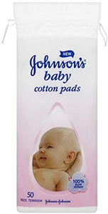 Johnson Baby Cotton Pads 50's