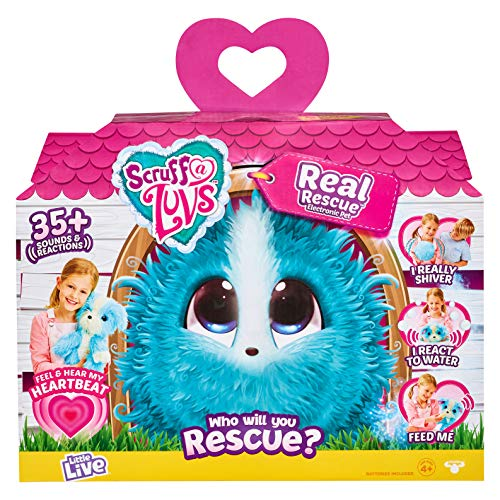 Scruff-a-Luvs Real Rescue Soft Toy