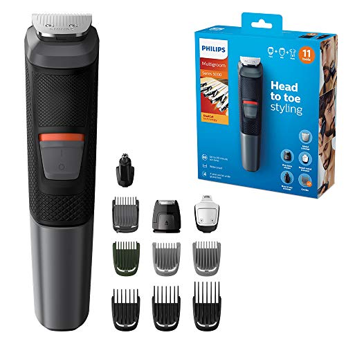 Philips Series 5000 11-in-1 Multi Grooming Kit for Beard, Hair and Body