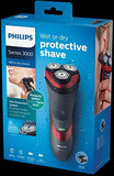 Philips Series 3000 Wet & Dry Men's Electric Shaver with Pop-up Trimmer