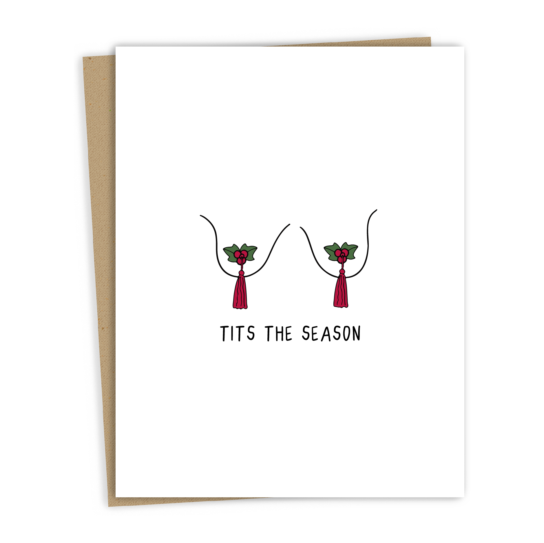 Tits The Season Card