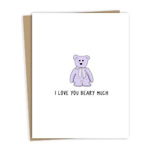 Beary Love Card